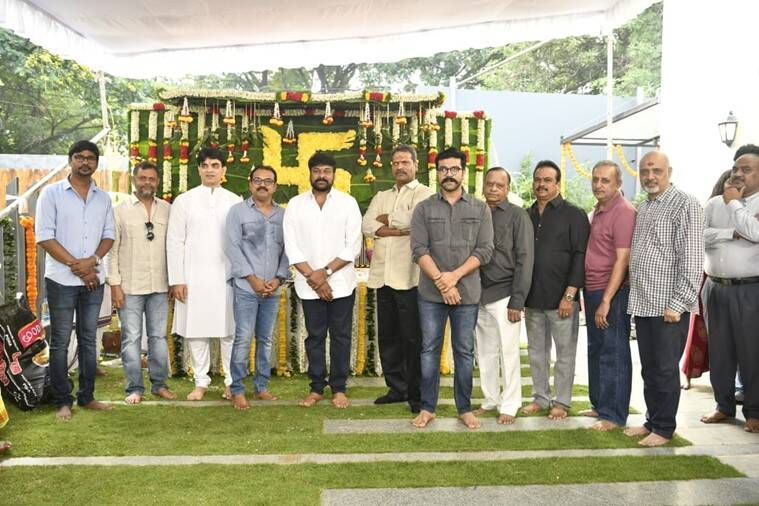 After Sye Raa, Chiranjeevi kicks-off his 152nd film with Koratala Siva