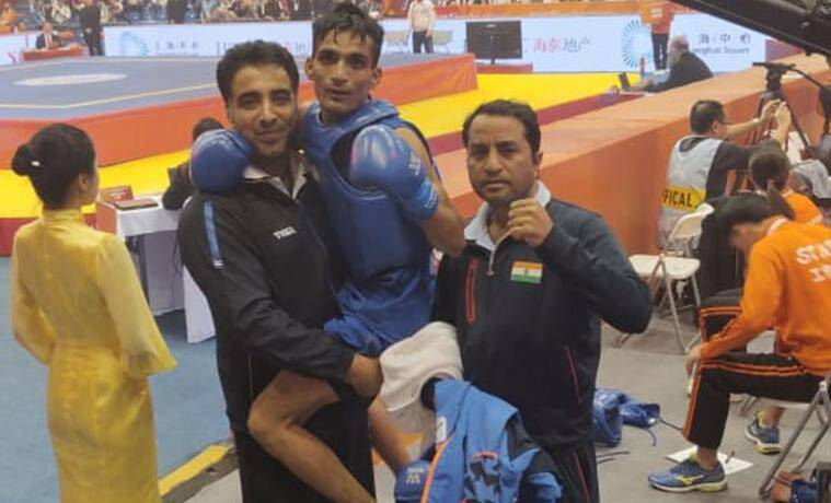 Praveen Kumar Wushu, Wushu champion Praveen Kumar, india sports. wushu world championship, india sports medal, india sports gold, india sports world, sports news