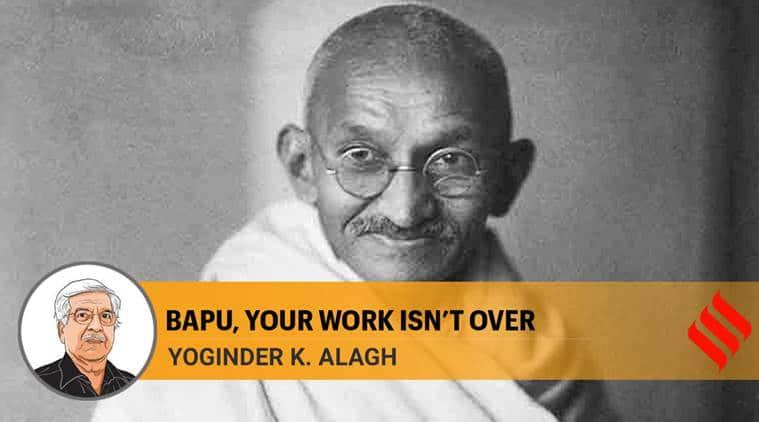 mahatma gandhi, gandhian values, gandhi and economy, narendra modi,