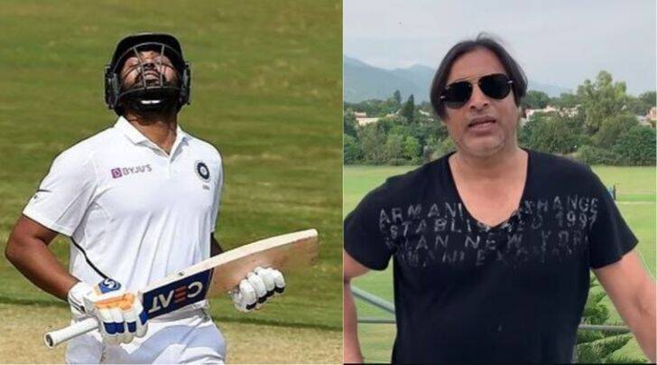 rohit Sharma, rohit Sharma batting, rohit Sharma century, rohit Sharma in Test matches, Shoiab Akhtar on rohit Sharma, Akhtar hails rohit Sharma, rohit Sharma batting