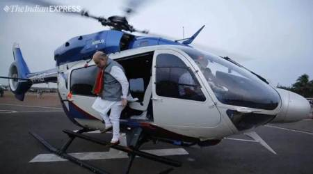 amit shah bsf chopper, bsf pilot impersonation, bsf pilot amit shah, amit shah chopper, Wing Commander (retd) J S Sangwan