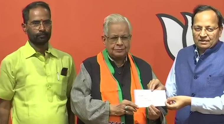Ex-Cong leader from UP joins BJP