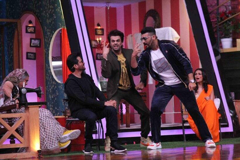 anil kapoor arjun kapoor on maniesh paul show