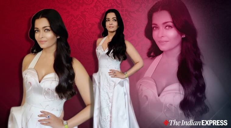 Aishwarya Rai Bachchan looks like a vision in white; see pictures