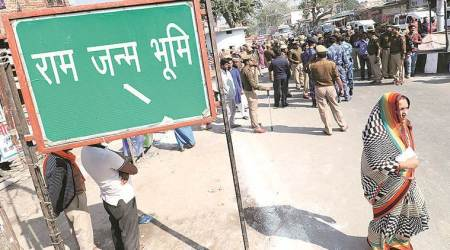 ayodhya case, Ram Janmbhoomi-Babri Masjid land dispute, sc ayodhya case, ayodhya case litigant, Umesh Chandra Pandey, indian express