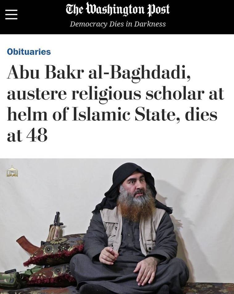 Why Washington Post is under fire for its Baghdadi ...