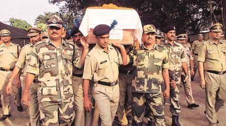 BSF, BSF man kiled, BGB, Indo bangladesh border, Bangladesh troops, indian express