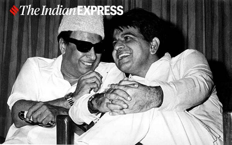 mgr with dilip kumar