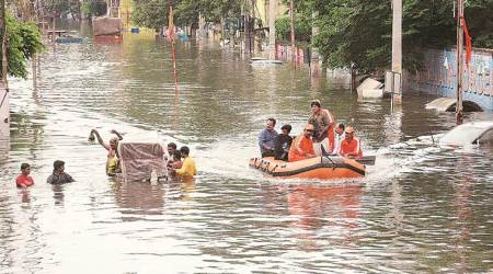 Experts blame climate change, unplanned development for floods in UP, Bihar