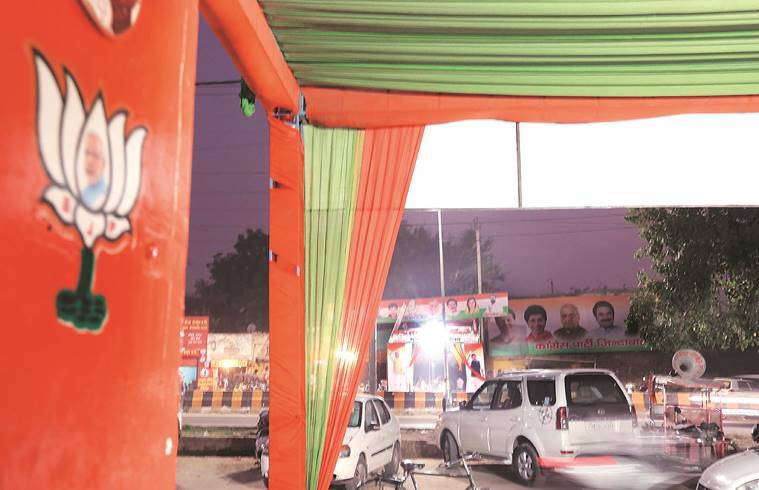 Haryana: After 3 weeks of campaigning, party offices at Hansi have a quiet day