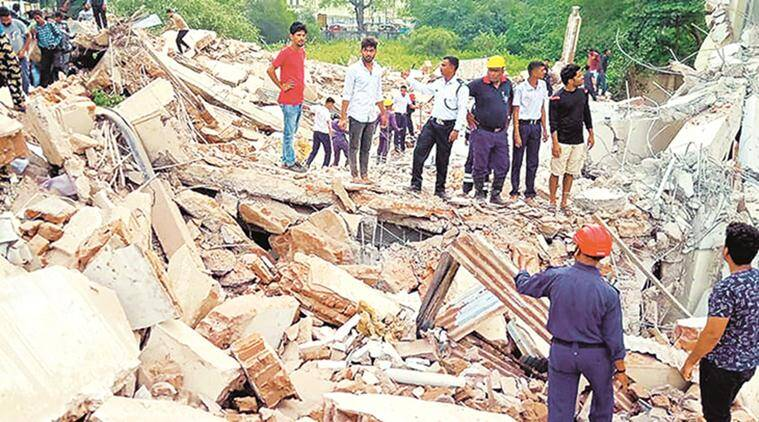 Vadodara: One killed in building collapse