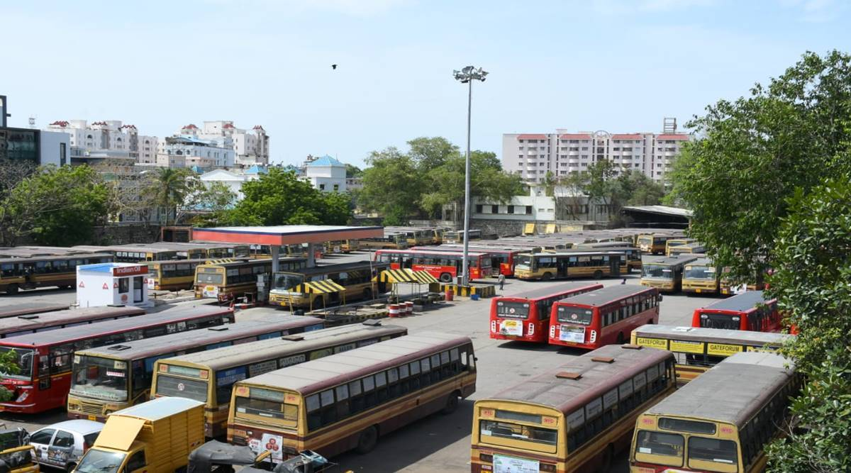 Covid-19 guidelines, Inter-state bus service, Chandigarh news, Punjab news, Indian express news