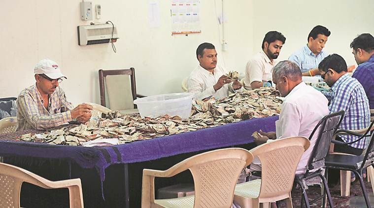 Mansa Devi Mandir Board collects Rs 11 lakh donations during navratra