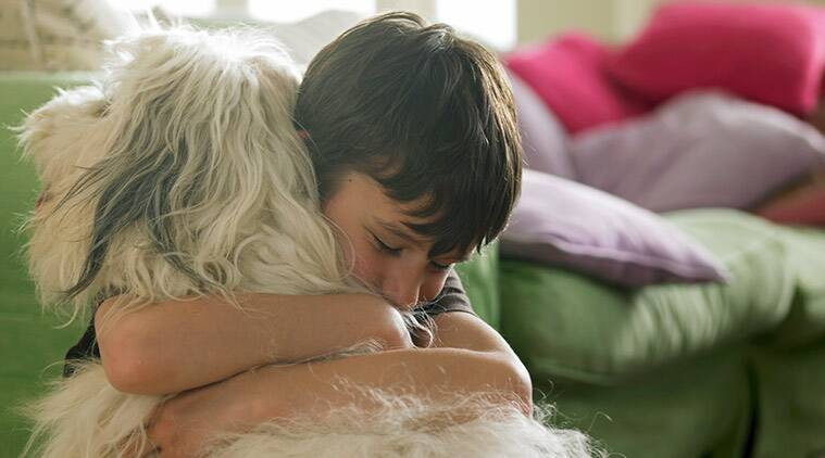 parenting tips, child and dog