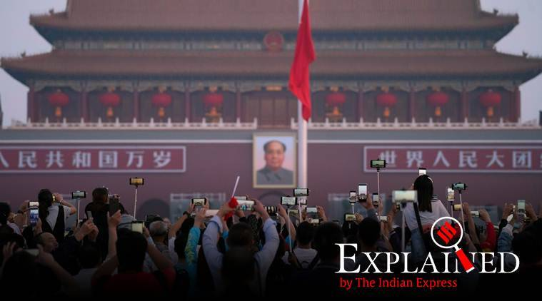 China 70 Why National Day Military Parade In Beijing Today Matters Explained News The Indian Express