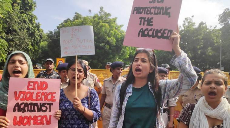Chinmayanad rape case: Gender studies students protest against arrest of Shahjahanpur woman