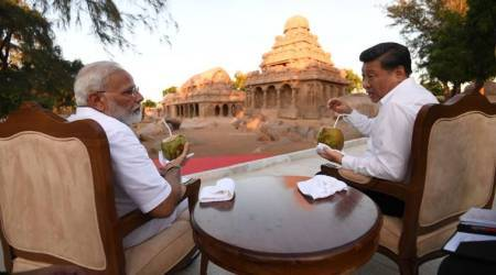 Day 1 of Xi-Modi summit kept informal over coconut water, likely to discuss bilateral issues tomorrow