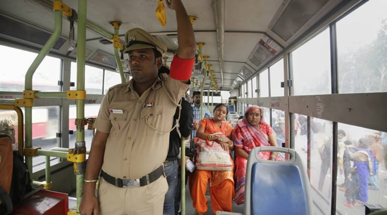 free bus ride for women in delhi, Kejriwal on free bus ride scheme, arvind kejriwal, bus marshalls, delhi news