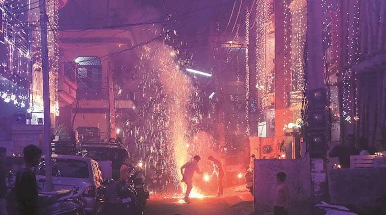 chandigarh, green diwali, chandigarh air quality, indian express