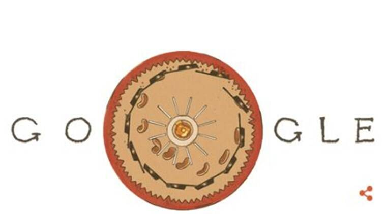 Google doodle celebrates Belgian physicist Joseph Plateau's birthday