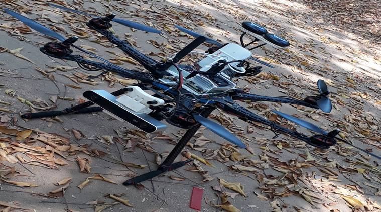 iit madras, drone, iit start up, startup india, drone technology, eye in the sky, disaster relief technology, artificatial intelliegnce, ai drine startup iit, education news
