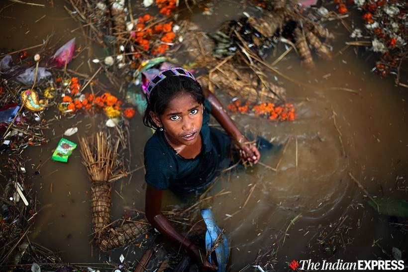 delhi idol immersion, delhi idol immersion artificial ponds, delhi artificial ponds, yamuna, delhi city news, delhi durga puja