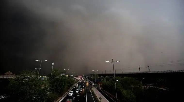 Dust storm, light rains in Delhi-NCR: Eight flights diverted to Lucknow, Jaipur