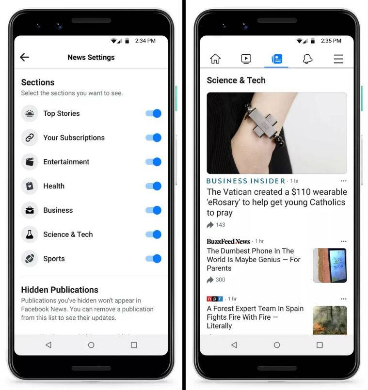 facebook news, what is facebook news, how facebook news will work, facebook news publishers, facebook news today stories