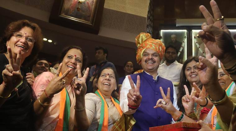 BJP, Shiv Sena tussle for Maharashtra CM post after elections