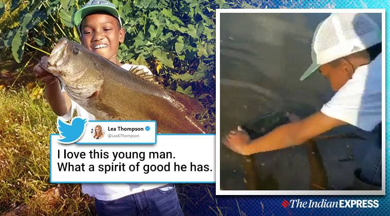 Viral video: Florida boy releases his 'biggest catch', melts hearts online