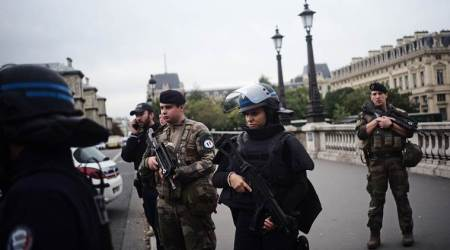 Paris knife attack, Knife attack Paris, Paris knife attack accused, Paris knife attack death toll, Paris Police, World news, Indian Express