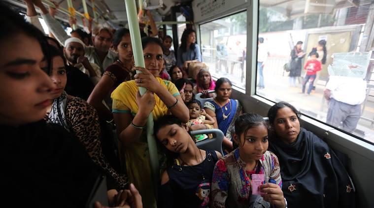 Delhi govt rolls out free bus rides for women: Student to domestic help, pink tickets find many takers