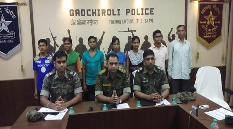 Seven naxals surrender in Maharashtra's Gadchiroli: police