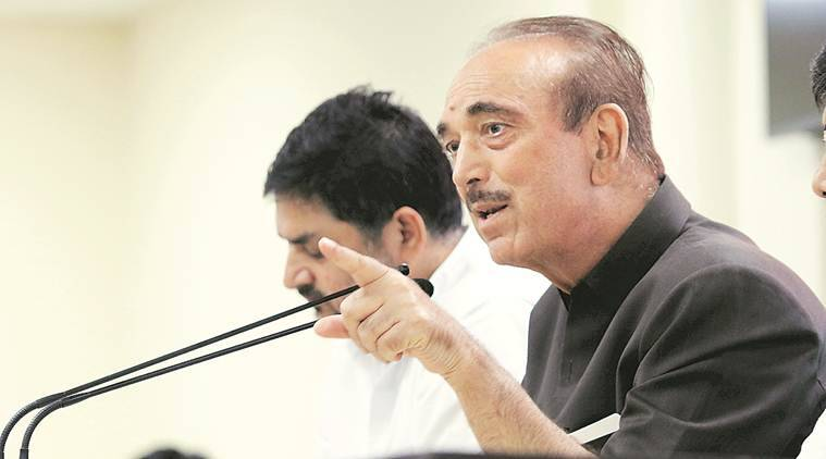 Not allowed to meet people freely; cameras at guesthouses: Ghulam Nabi Azad on Kashmir