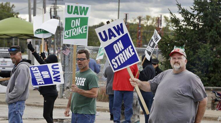 Gm strike affects about 150000 auto industry workers says consulting firm