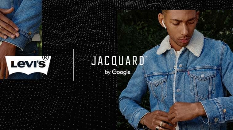 Google Project Jacquard, Google Levis Jacket, Google Smart jacket, Levis Trucker Jacket, Levis Trucker Jacket Google, Levis Trucker Jacket Project Jacquard