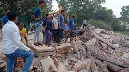Gujarat: One killed, seven feared trapped as building collapses in Vadodara