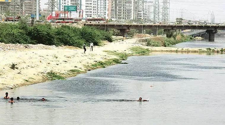 Hindon river, Hindon river pollution, Hindon commitee, Hindon pollution committee, NGT, Yogi adityanath, Uttar Pradesh