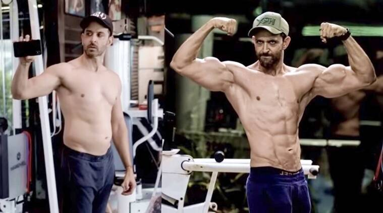 hrithik roshan transformation kabir war