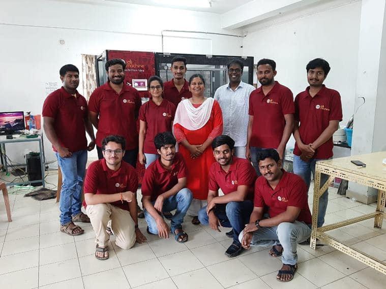 idli machine, indianexpress.com, indianexpress, Ayyappa Nagubandi, Dr Mahalakshmi Nagubandi, automation, idli breakfast, dosa, healthy brekfast option,
