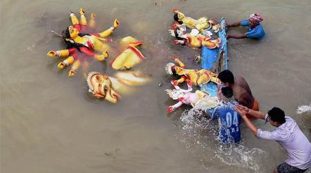 Rs 50,000 fine for idol immersion in River Ganga and its tributaries: Centre