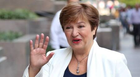 new imf chief Kristalina Georgieva, imf chief vows gender equality, former world bank chief, bulgaria, world news, indian express