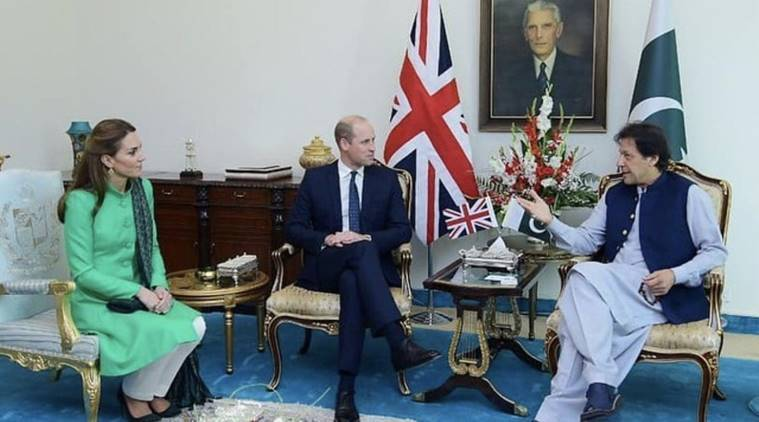 Image result for kate and william with imran khan