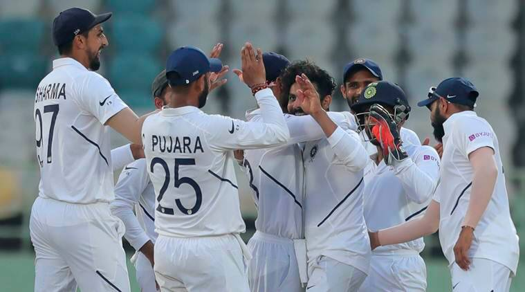 Image result for India test win against South Africa