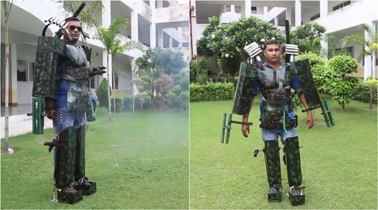 iron man, iron man suit, iron man indian suit, indian man iron man suit, viral videos, funny videos,