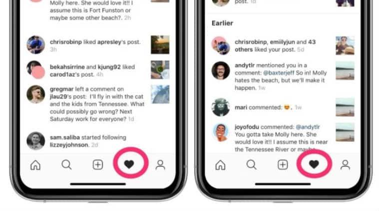 instagram, instagram activity, instagram following tab, instagram following tab remove
