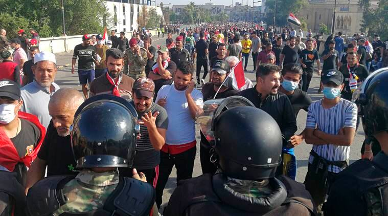 iraqi baghdad, baghdad protests, iraq protesters, latest news,
