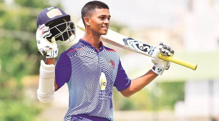 Yashasvi Jaiswal, Yashasvi Jaiswal double century, Yashasvi Jaiswal mumbai, mumbai batting star, india cricket news, indian express