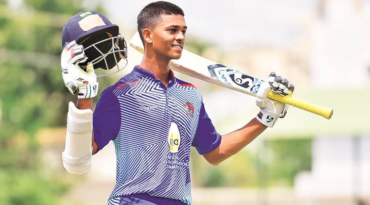Yashasvi Jaiswal, Yashasvi Jaiswal double century, Yashasvi Jaiswal mumbai, mumbai batting star, india cricket news, indian express