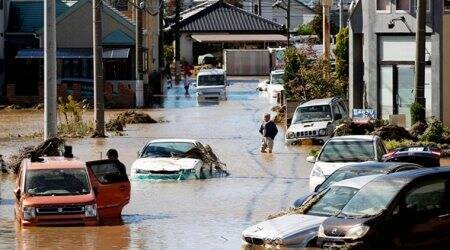 Death toll rises to 8 as heavy rains hit typhoon-battered eastern Japan